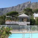 Pool overlooking Table mountain